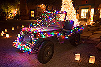 /images/133/2016-12-03-tubac-lights-1dx_31199.jpg - 13198: USMC Jeep with Christmas Lights in Tubac, Arizona … December 2016 -- Tubac, Arizona