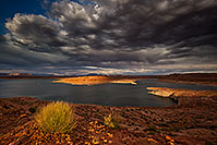 /images/133/2017-08-20-powell-overlook-a7r2_01219.jpg - 14004: Monsoon clouds and Lake Powell, Utah … August 2017 -- Lake Powell, Utah