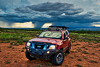 /images/133/2018-07-18-gv-xterra-viv77-a7r3_2640.jpg - 14502: Xterra and monsoon clouds in Green Valley, Arizona … July 2018 -- Green Valley, Arizona