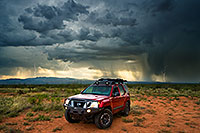 /images/133/2018-08-07-gv-strikes-viv1-19-21-60-a7r3_3402.jpg - 14517: Xterra with lightning and monsoon clouds in Santa Rita Mountains … August 2018 -- Green Valley, Arizona