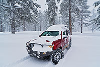 /images/133/2019-02-21-bryce-xterra-a7r3_11986.jpg - 14600: Xterra on a snowy day in Bryce Canyon … February 2019 -- Bryce Canyon, Utah