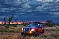/images/133/2019-08-03-santa-rita-xterra-ton1-77-a7r3_17876.jpg - 14743: Xterra and August monsoon sky in Green Valley … August 2019 -- Green Valley, Arizona