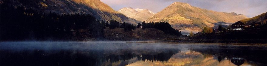 /images/500/2004-10-cb-nicholson1-sp.jpg - #02262: morning at Nicholson Lake (elev 8,913ft) … Oct 2004 -- Nicholson Lake, Crested Butte, Colorado
