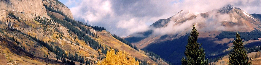 /images/500/2004-10-crested-view1-sp.jpg - #02351: images of Paradise Divide lake (elev 11,250 ft) … October 2004 -- Paradise Divide Lake, Crested Butte, Colorado