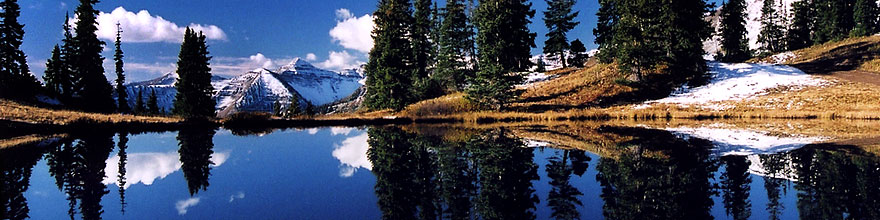 /images/500/2004-10-crested-yule1-sp.jpg - #02360: images of Paradise Divide lake (elev 11,250 ft) … October 2004 -- Paradise Divide Lake, Crested Butte, Colorado