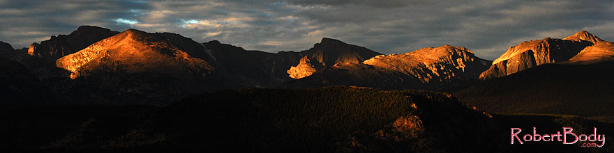 /images/500/2007-09-03-rm-mtns-0777-sp.jpg - #04678: Longs Peak in the morning, a view from Moraine Park … Sept 2007 -- Moraine Park, Rocky Mountain National Park, Colorado