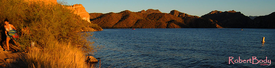 /images/500/2007-10-07-sag-eve-5980s.jpg - #04768: Evening at Saguaro Lake … Oct 2007 -- Saguaro Lake, Arizona