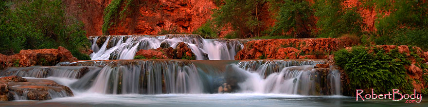 /images/500/2008-04-20-hav-creek-3935sp.jpg - #05293: Second crossing of Havasu Creek from Mooney Falls to Beaver Falls … April 2008 -- Havasu Creek, Havasu Falls, Arizona