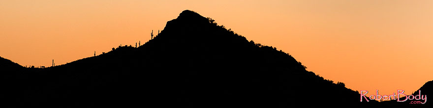 /images/500/2008-09-04-supers-silh-23688sp.jpg - #05874: Sunset in Superstitions … September 2008 -- Apache Trail Road, Superstitions, Arizona