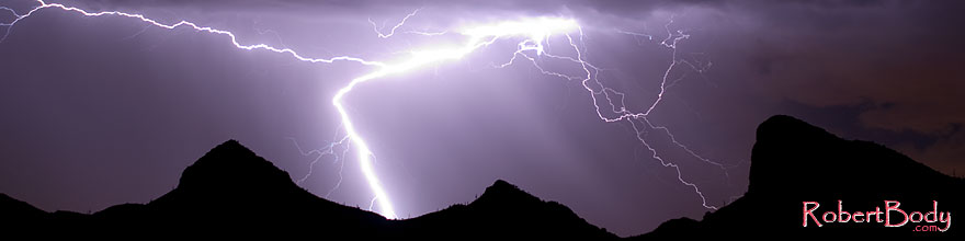 /images/500/2008-09-10-supers-light-purple-25373sp.jpg - #05846: Lightning in Superstitions, Arizona … September 2008 -- Superstitions, Arizona