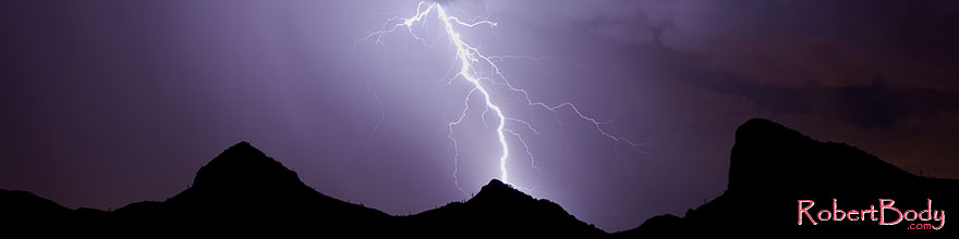 /images/500/2008-09-10-supers-light-purple-25435sp.jpg - #05848: Lightning in Superstitions, Arizona … September 2008 -- Superstitions, Arizona