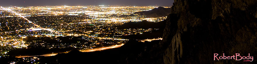 /images/500/2008-09-20-squaw-city-29071sp.jpg - #05951: Night at Squaw Peak … September 2008 -- Squaw Peak, Phoenix, Arizona