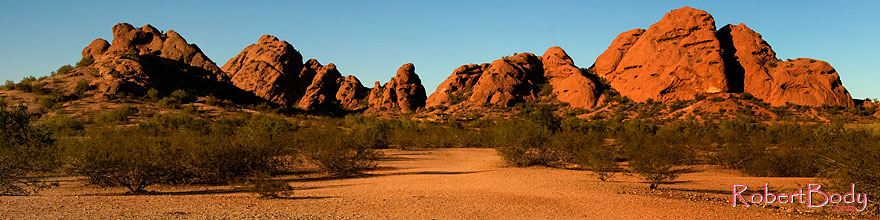 /images/500/2008-12-05-papago-view-59881sp.jpg - #06400: Buttes of Papago Park … December 2008 -- Papago Park, Phoenix, Arizona