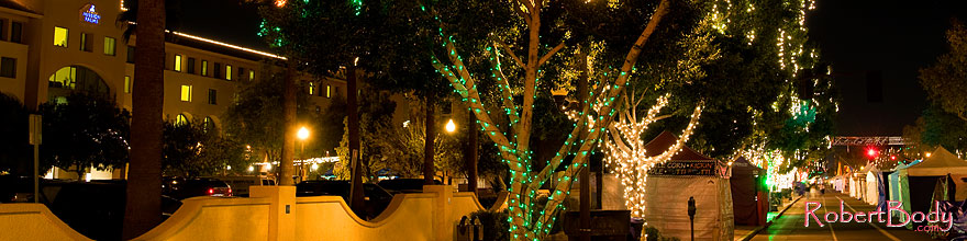 /images/500/2008-12-05-tempe-mill-road-60309sp.jpg - #06410: Christmas lights along Mill Road in Tempe - view South … December 2008 -- Mill Road, Tempe, Arizona