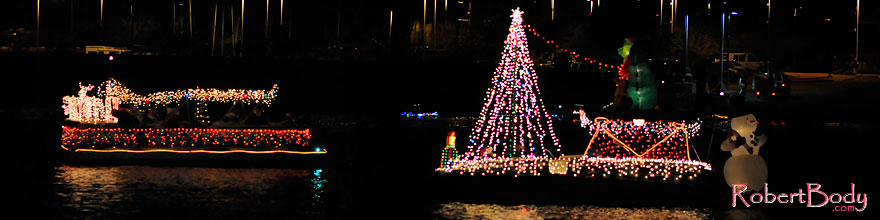 /images/500/2008-12-13-tempe-lights-boats-62648sp.jpg - #06416: APS Fantasy of Lights Boat Parade … December 2008 -- Tempe Town Lake, Tempe, Arizona