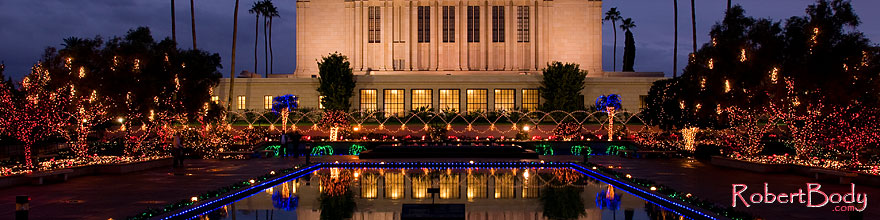 /images/500/2008-12-15-mesa-temple-64158sp2.jpg - #06517: Mesa Temple Garden Christmas Lights Display … December 2008 -- Mesa Arizona Temple, Mesa, Arizona