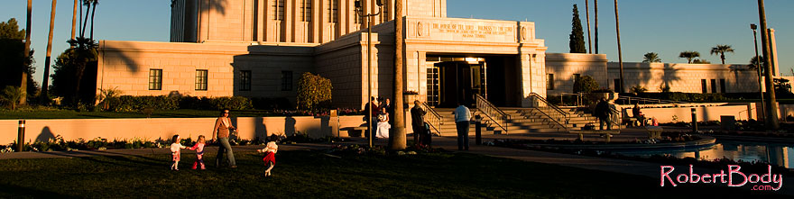 /images/500/2008-12-27-mesa-temple-girls-68207sp.jpg - #06650: People at the West side of Mesa Arizona Temple … December 2008 -- Mesa Arizona Temple, Mesa, Arizona
