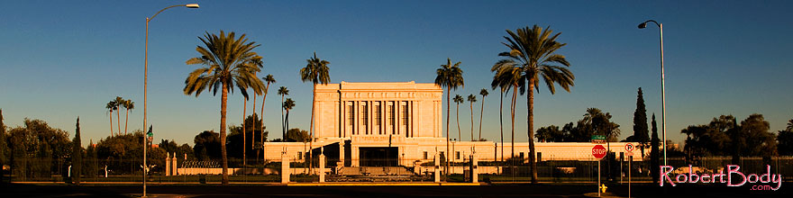 /images/500/2008-12-28-mesa-temple-west-68450sp.jpg - #06670: West side of Mesa Arizona Temple … December 2008 -- Mesa Arizona Temple, Mesa, Arizona