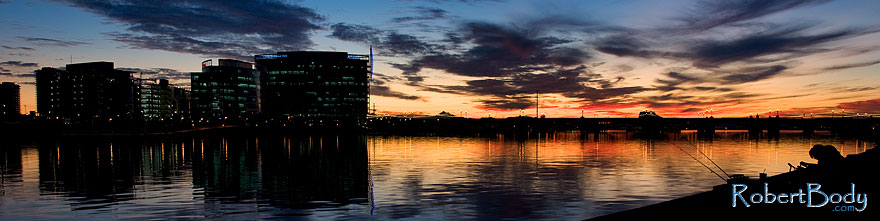 /images/500/2009-01-08-tempe-lake-sunset-74185sp.jpg - #06870: Tempe Town Lake … January 2009 -- Tempe Town Lake, Tempe, Arizona