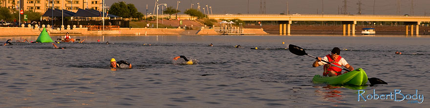 /images/500/2009-10-30-tempe-splash-swim-120283sp.jpg - #07812: 00:08:15 leaders in swimming - Splash and Dash Fall #4, October 30, 2009 at Tempe Town Lake … October 2009 -- Tempe Town Lake, Tempe, Arizona