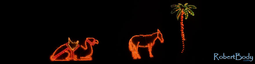 /images/500/2009-12-31-chandler-lights-131276sp.jpg - #08084: Christmas decorations in Chandler … December 2009 -- Chandler, Arizona