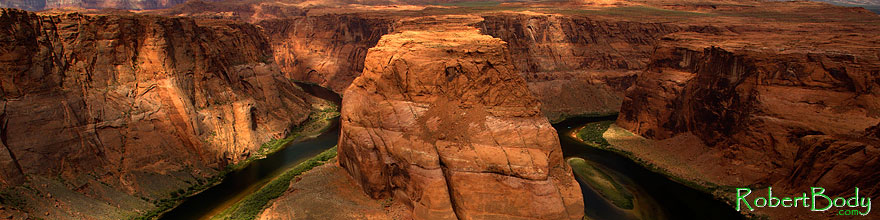 /images/500/2010-07-17-horseshoe-bend-16878sp.jpg - #08338: Morning at Horseshoe Bend … July 2010 -- Horseshoe Bend, Arizona