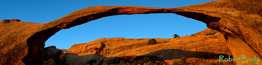 /images/500/2010-09-11-arches-landscape-32601sp.jpg - #08712: Landscape Arch in Arches National Park … September 2010 -- Landscape Arch, Arches Park, Utah