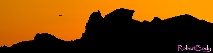 /images/500/2011-05-07-supers-plane-68118-sp.jpg - #09257: Sunset in Superstitions … May 2011 -- Superstitions, Arizona