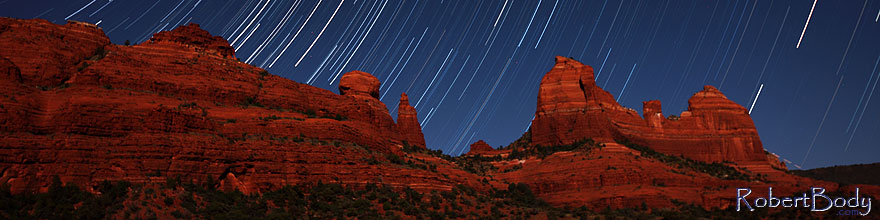 /images/500/2012-05-06-schnebly-strails-1ds3_0334s.jpg - #10171: 50 minutes of star trails at Schnebly Hill in Sedona, Arizona … May 2012 -- Schnebly Hill, Sedona, Arizona
