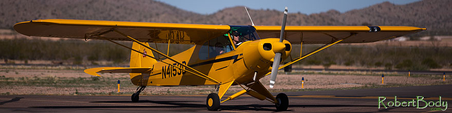 /images/500/2013-03-02-cg-fly-yellow-27729sp.jpg - #10851: Planes at 55th Annual Cactus Fly-In 2013 in Casa Grande, Arizona … March 2013 -- Casa Grande, Arizona